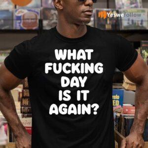 What Fucking Day Is It Again TeeShirt