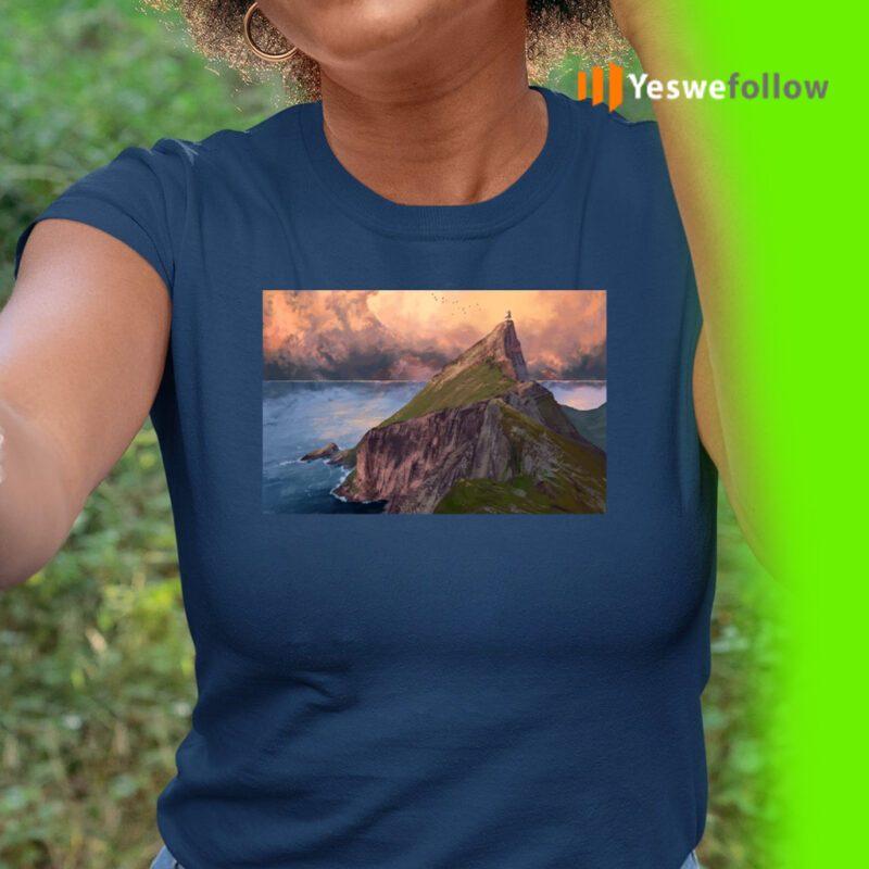 Woman in the peak T-Shirt