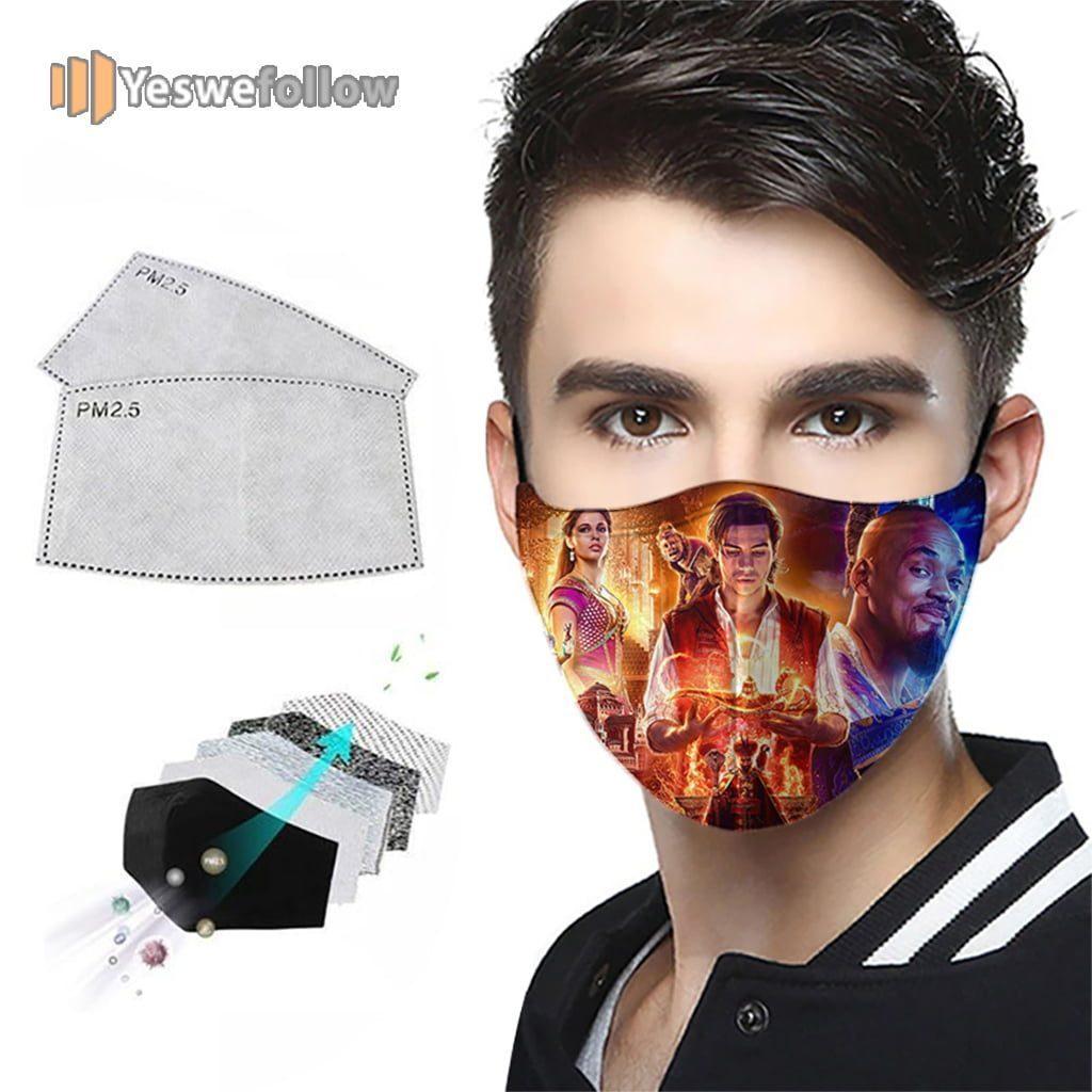 aladdin 2021 Face Mask aladdin Sport Mask