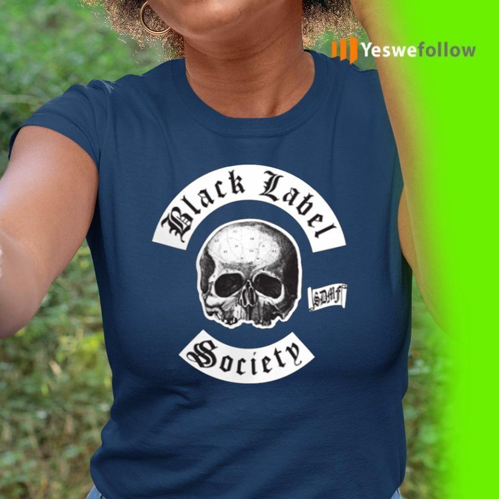 black label society shirts