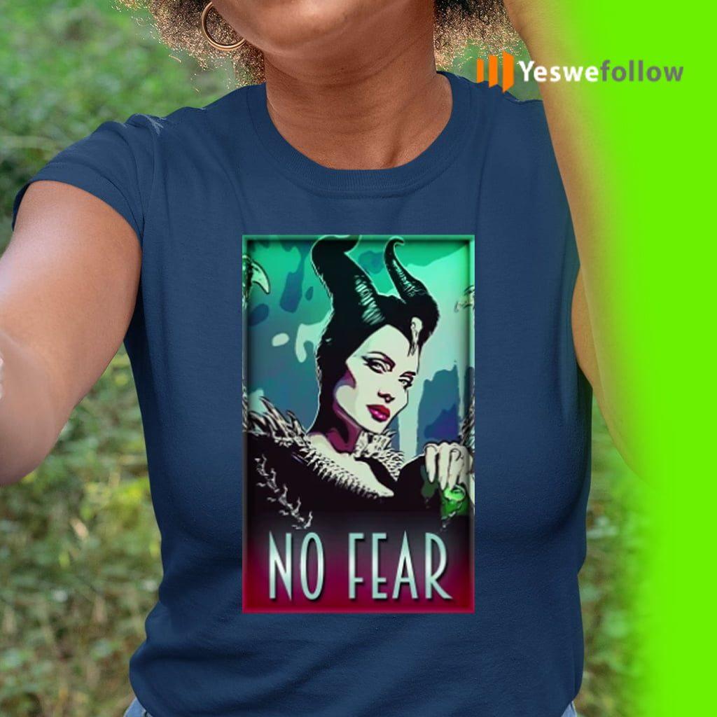 maleficent no fear teeshirts
