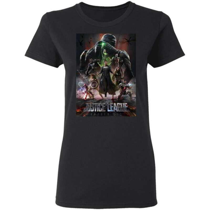 zack snyder's justice league t shirt