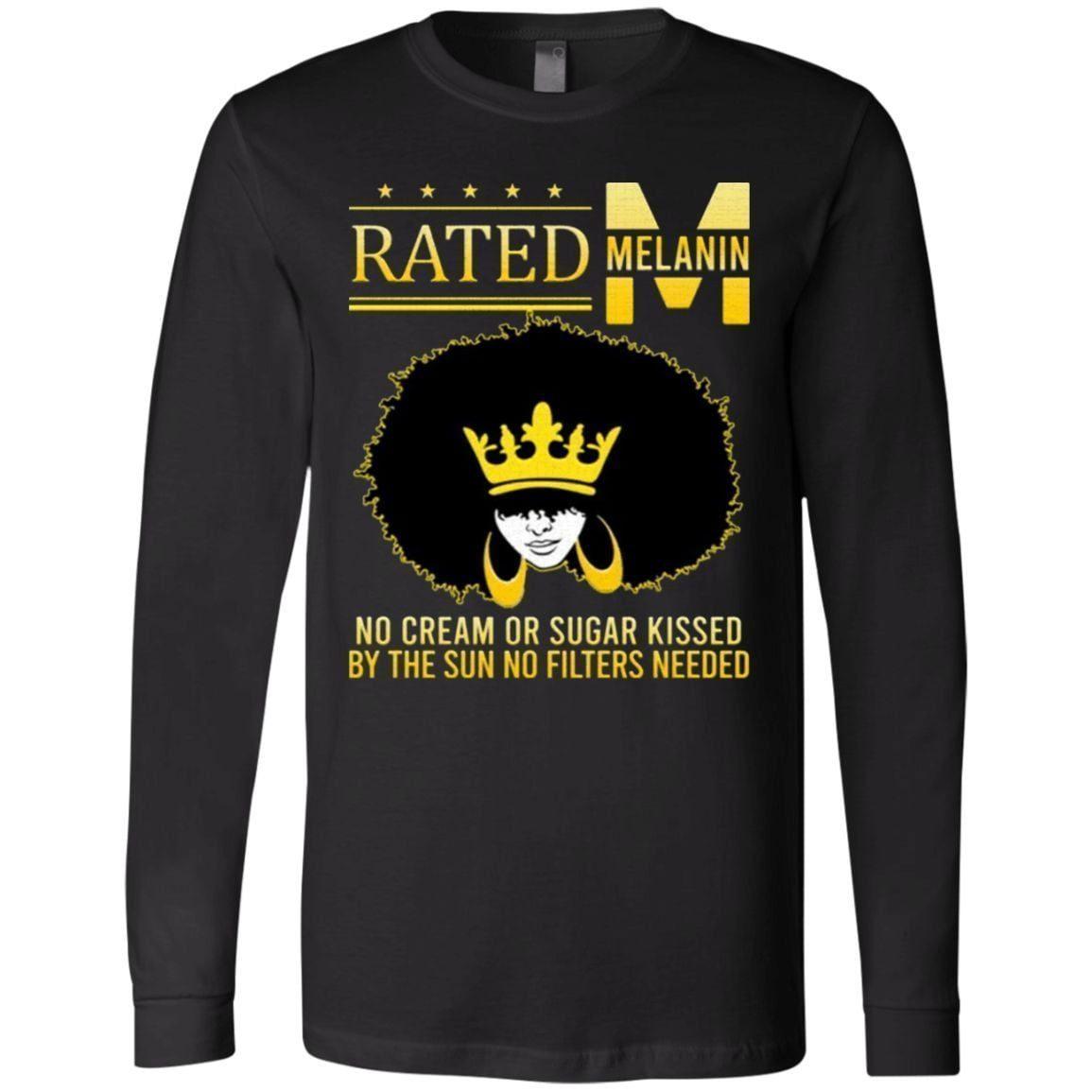 Rated Melanin No Cream or Sugar T Shirt