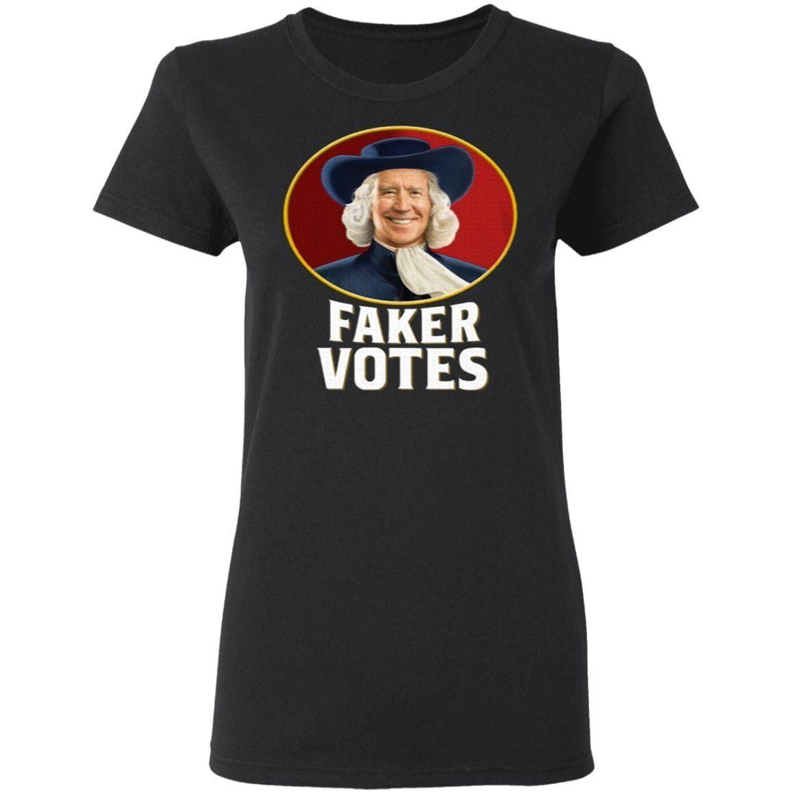 Joe Biden Faker Votes T Shirt