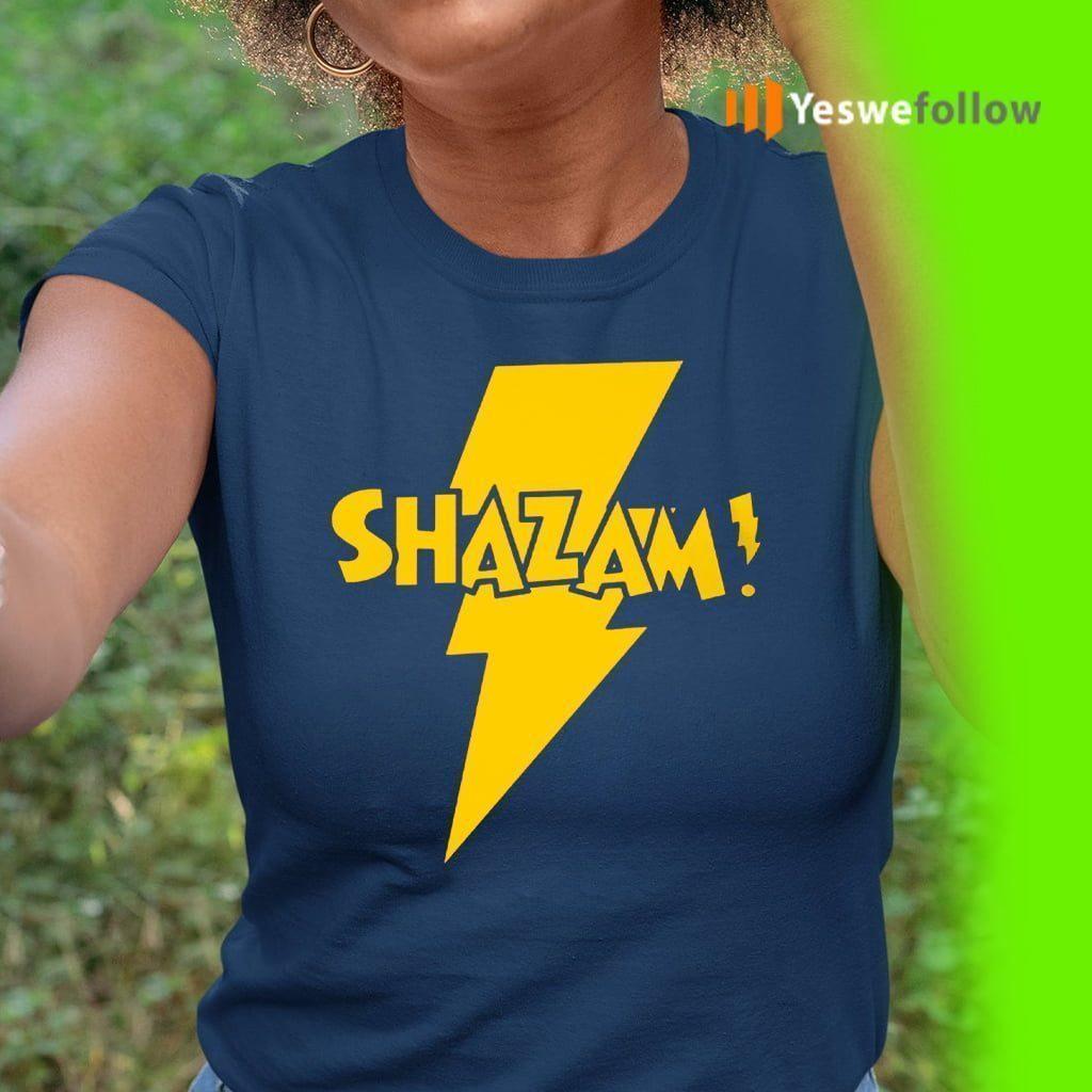 shazam teeshirts