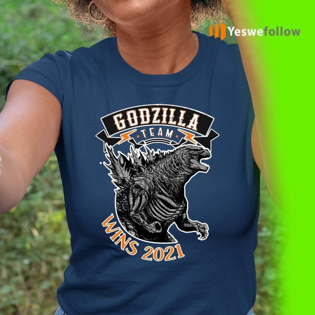 team godzilla wins 2021 shirt