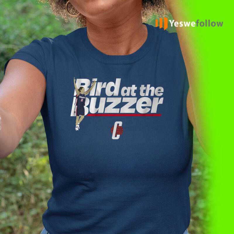 uconn bird at the buzzer teeshirts