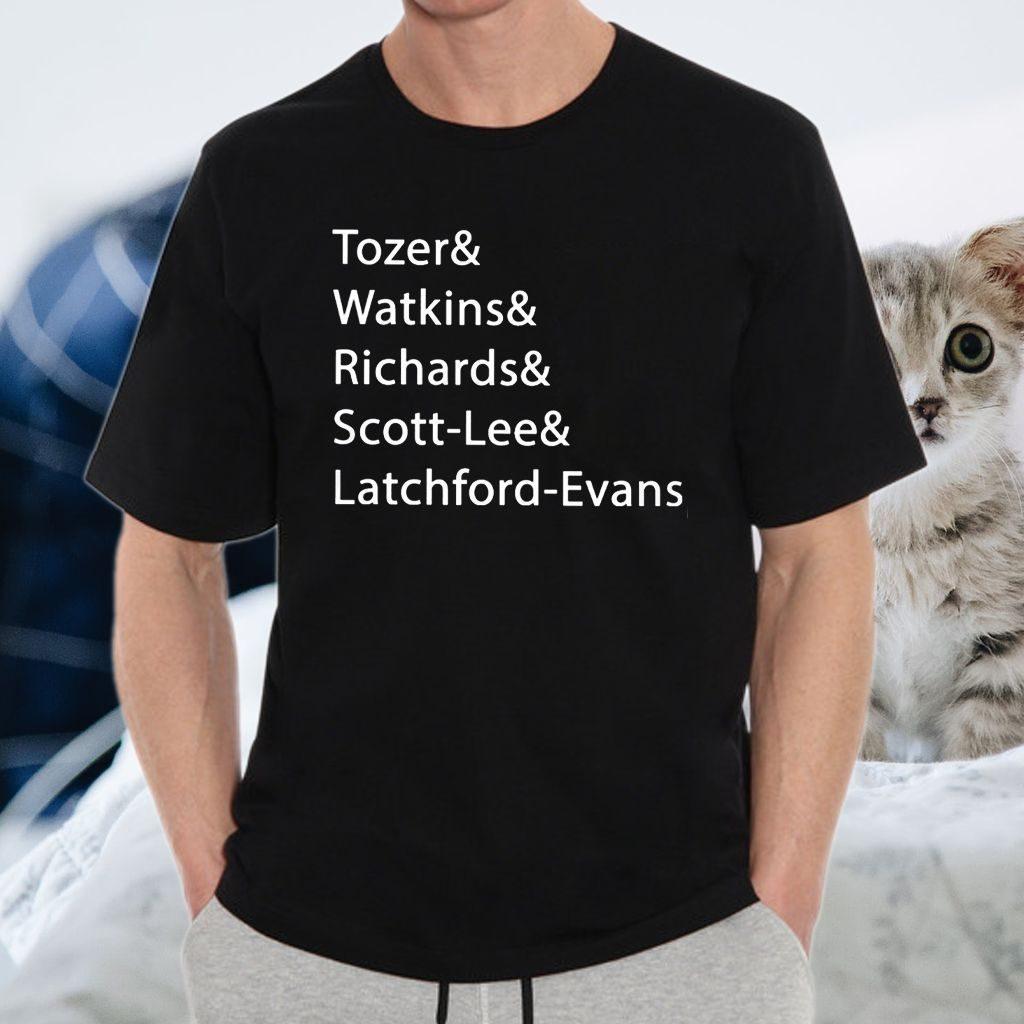 Tozer Watkins Richards Scott-Lee Latchford-Evans T-Shirt