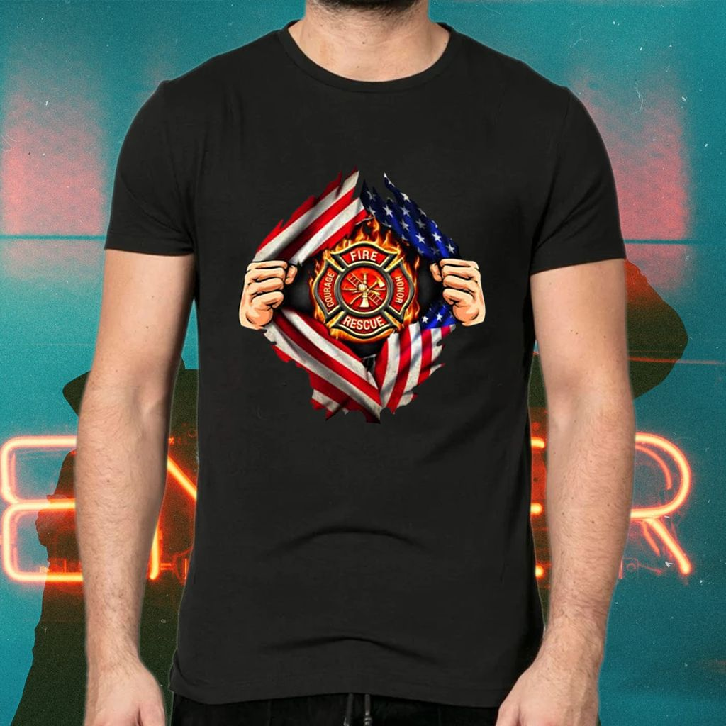 American Firefighter Profession TShirt