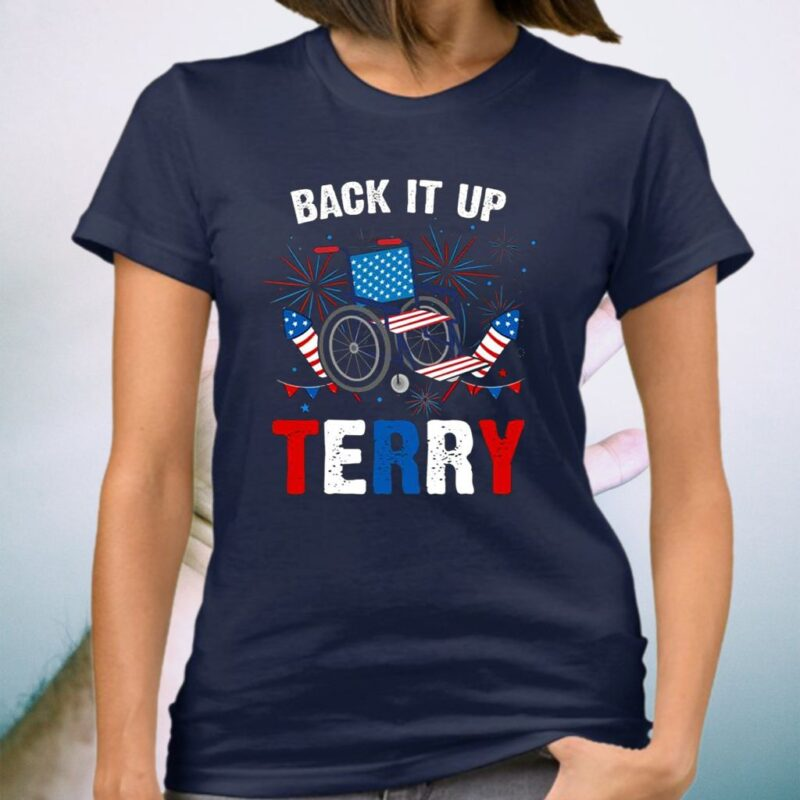 Back It Up Terry T-Shirt