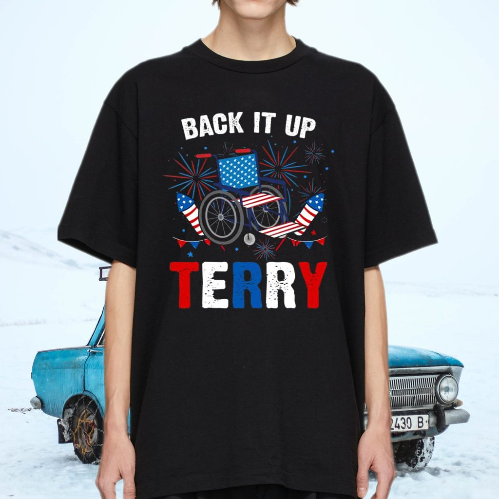 Back It Up Terry T-Shirts