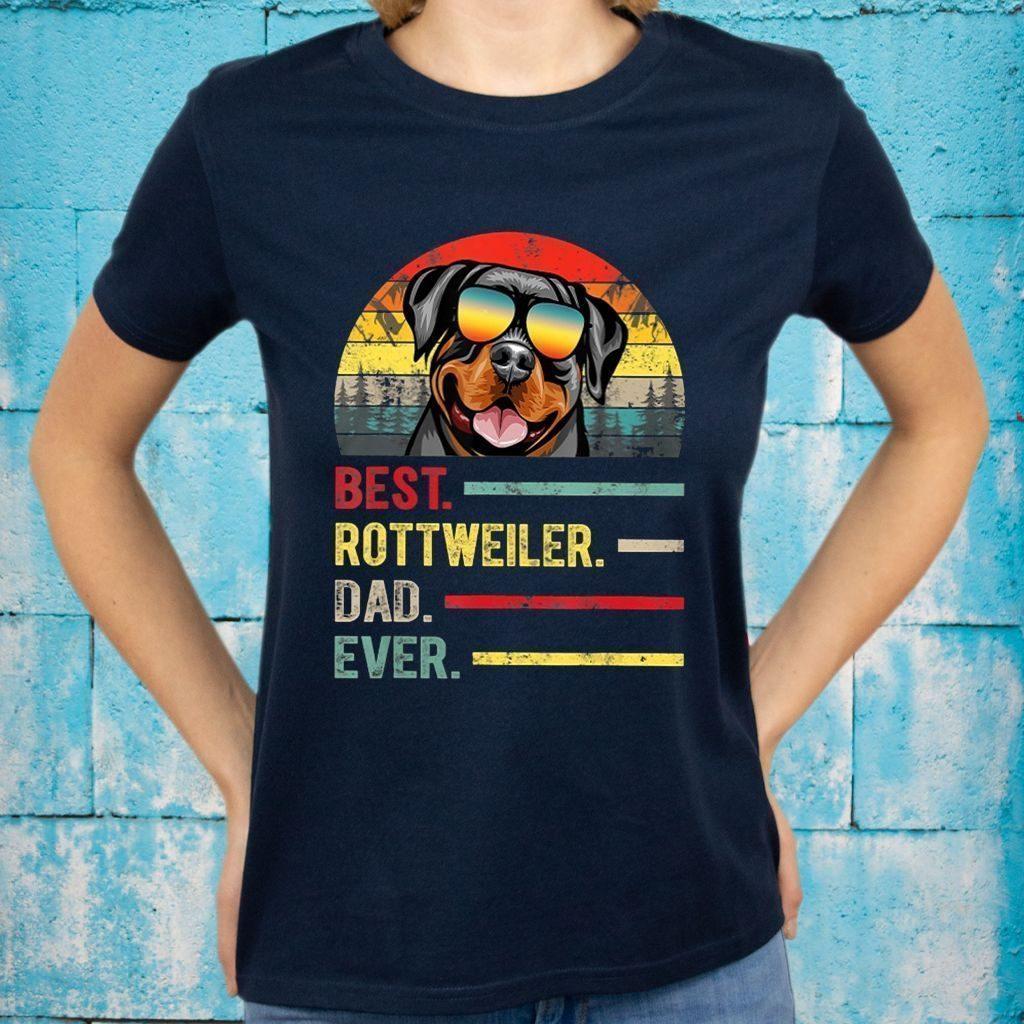 Best Rottweiler Dad Ever Shirts