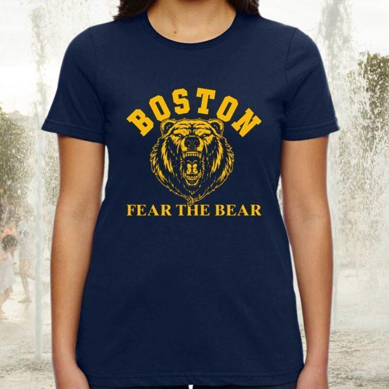 Boston Fear The Bear TShirt