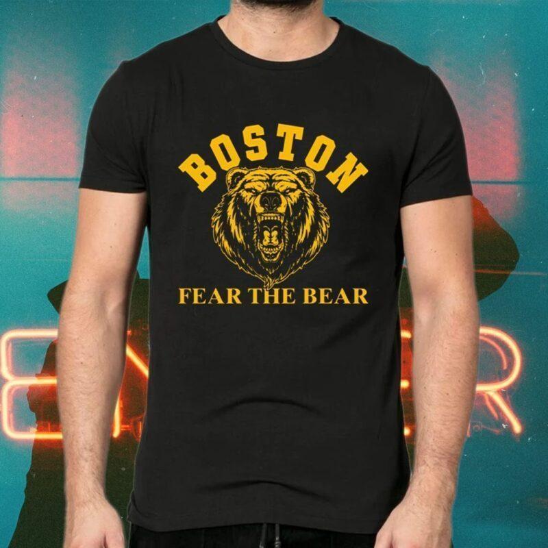 Boston Fear The Bear TShirts