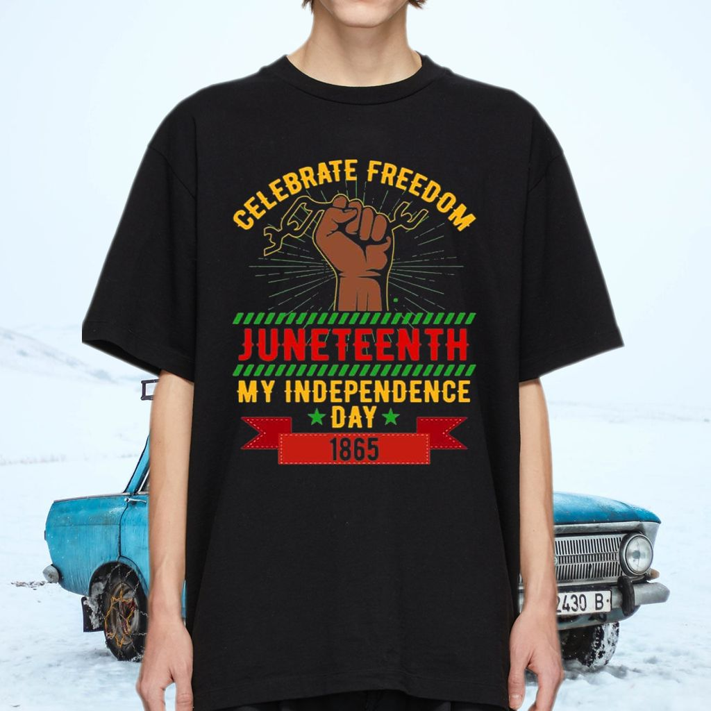 Celebrate Freedom Juneteenth My Independence Day 1865 T-Shirts