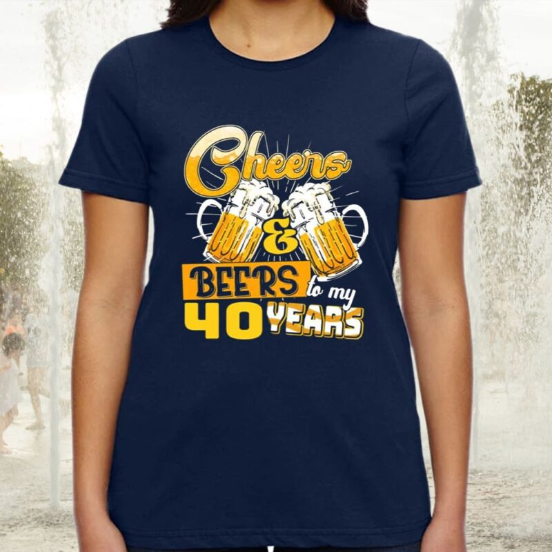 Cheer And Beer For My Birthday Years Old TShirt