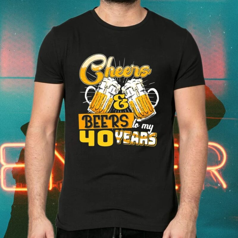 Cheer And Beer For My Birthday Years Old TShirts