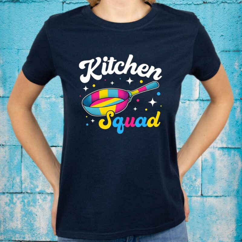 Cool Kitchen Squad T-Shirts