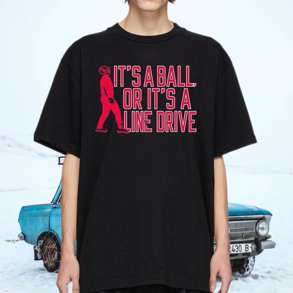 Jay Johnson Arizona Baseball It's A Ball Or It's A Line Drive Shirt
