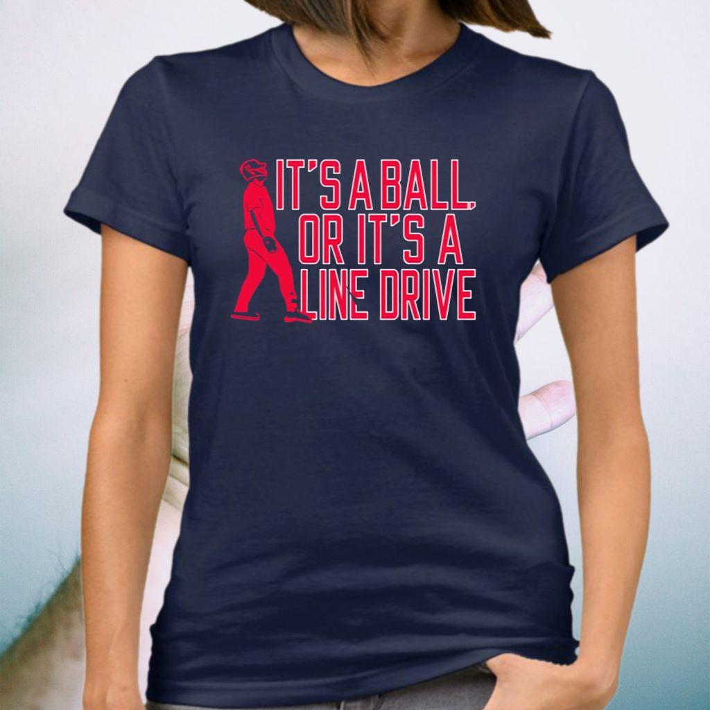Jay Johnson Arizona Baseball It's A Ball Or It's A Line Drive Shirts