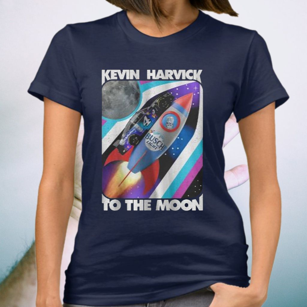 Kevin Harvick Busch Light To The Moon T-Shirt