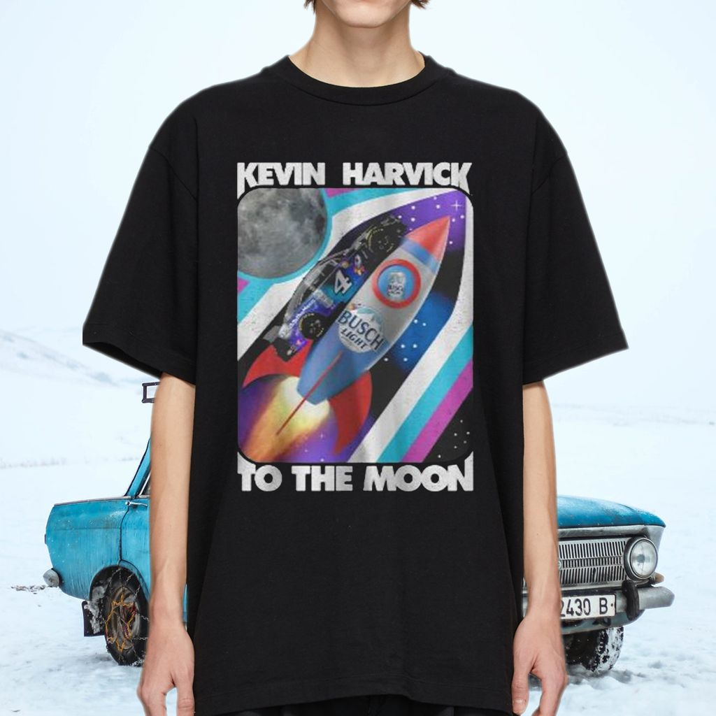 Kevin Harvick Busch Light To The Moon T-Shirts