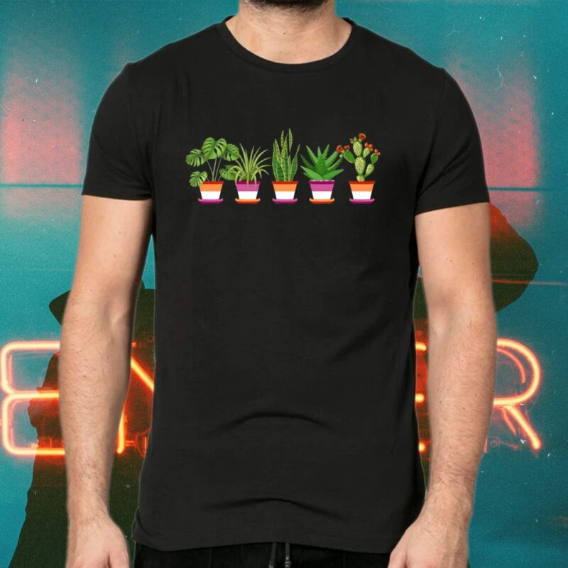 Lesbian Plant LGBT Tee-shirt