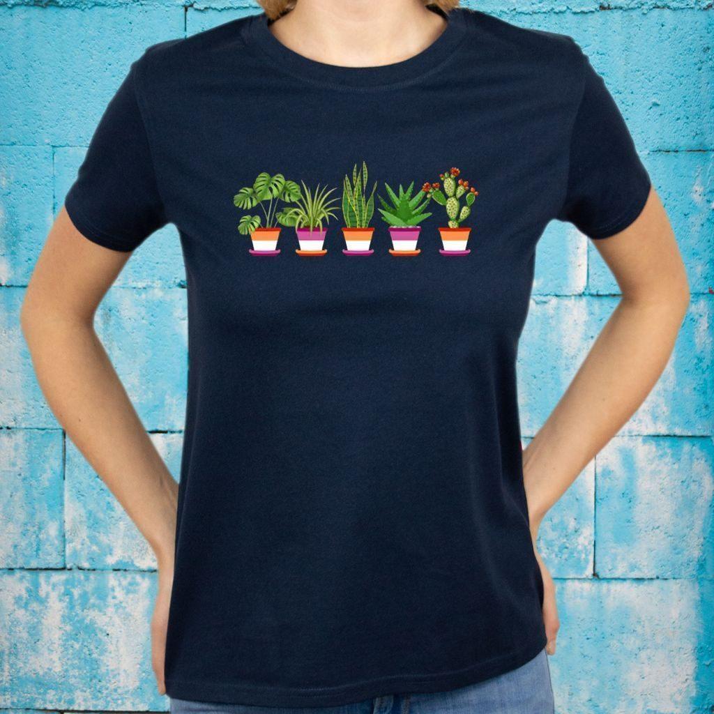 Lesbian Plant LGBT shirt