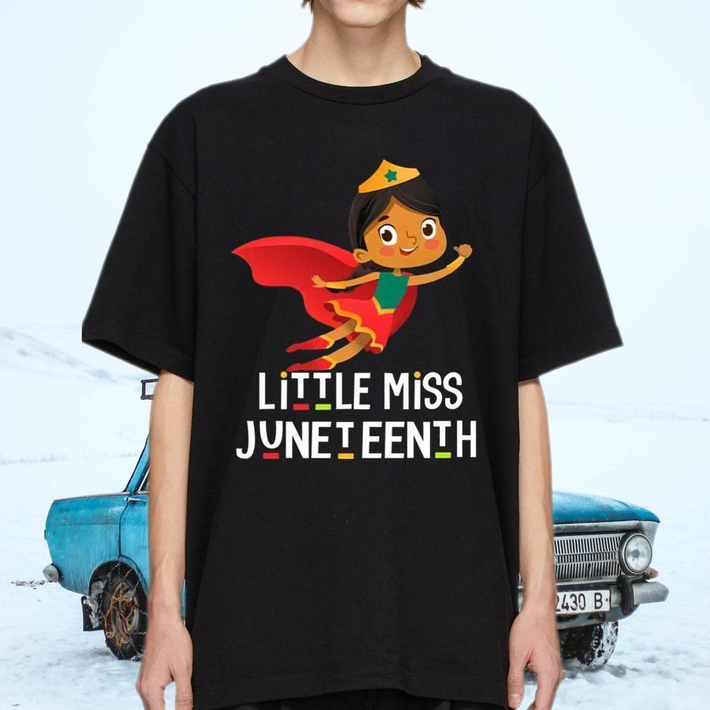 Little Miss Juneteenth TeeShirt