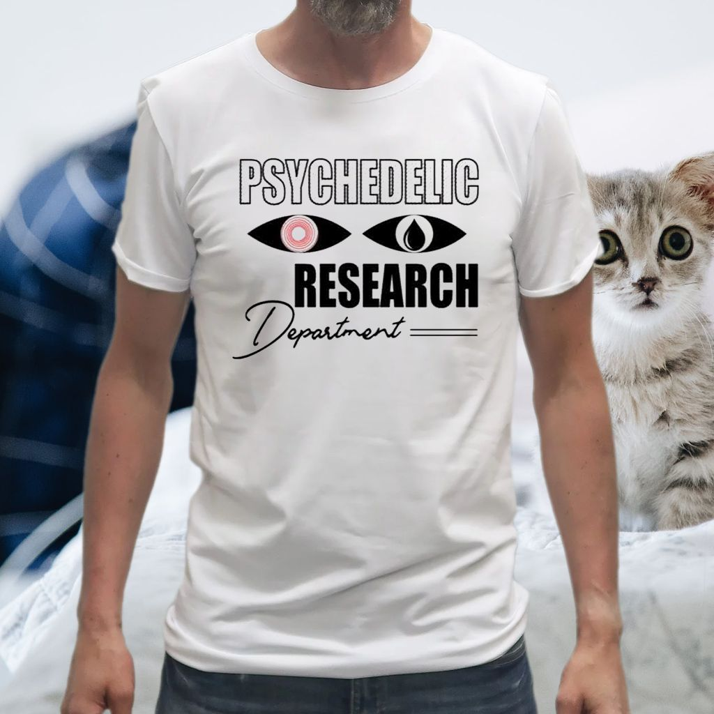 Psychedelic Research Department Funny T-Shirt