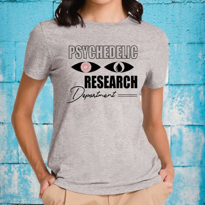 Psychedelic Research Department Funny T-Shirts