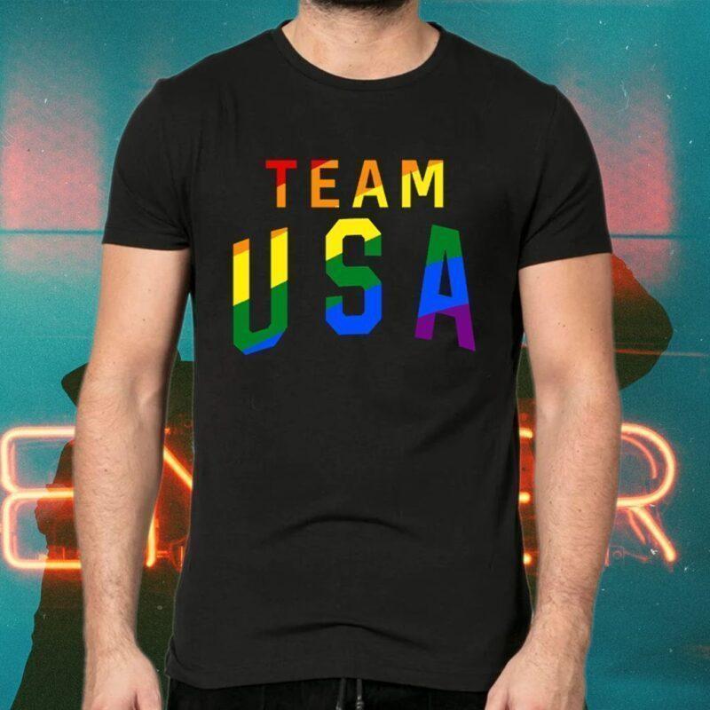 Team Usa Pride TShirt