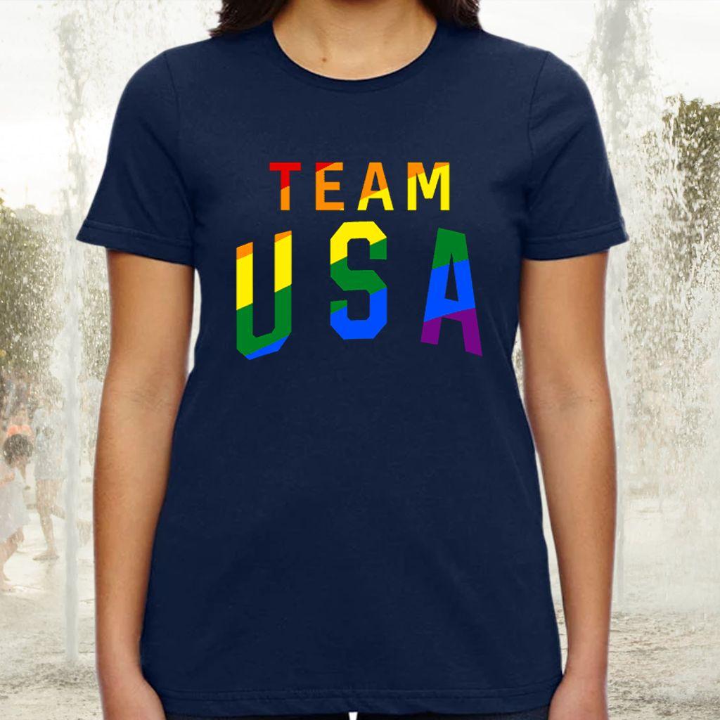Team Usa Pride TShirts
