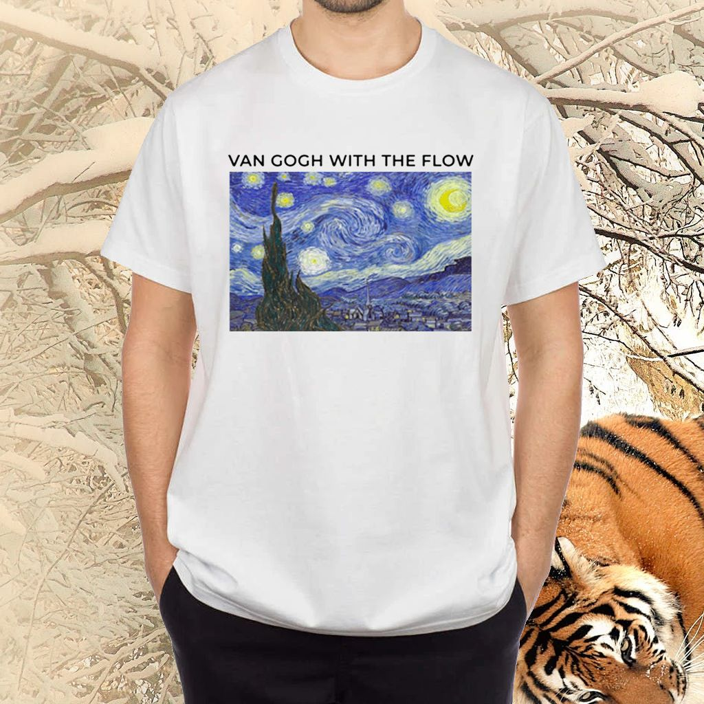 Van Gogh With The Flow TShirt