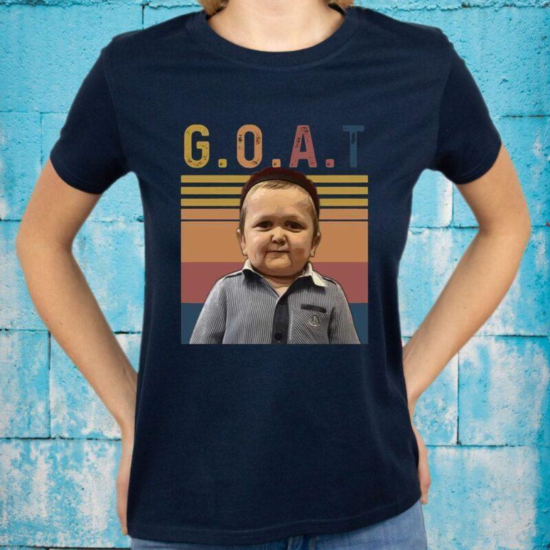 Vintage GOAT MMA Hasbulla Magomedov Funny Meme T-shirts