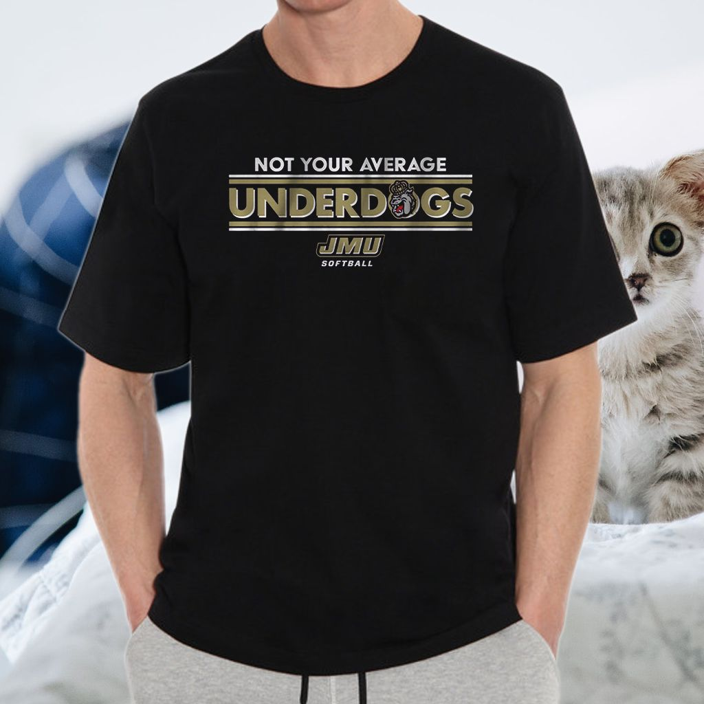 jmu not your average underdogs teeshirts