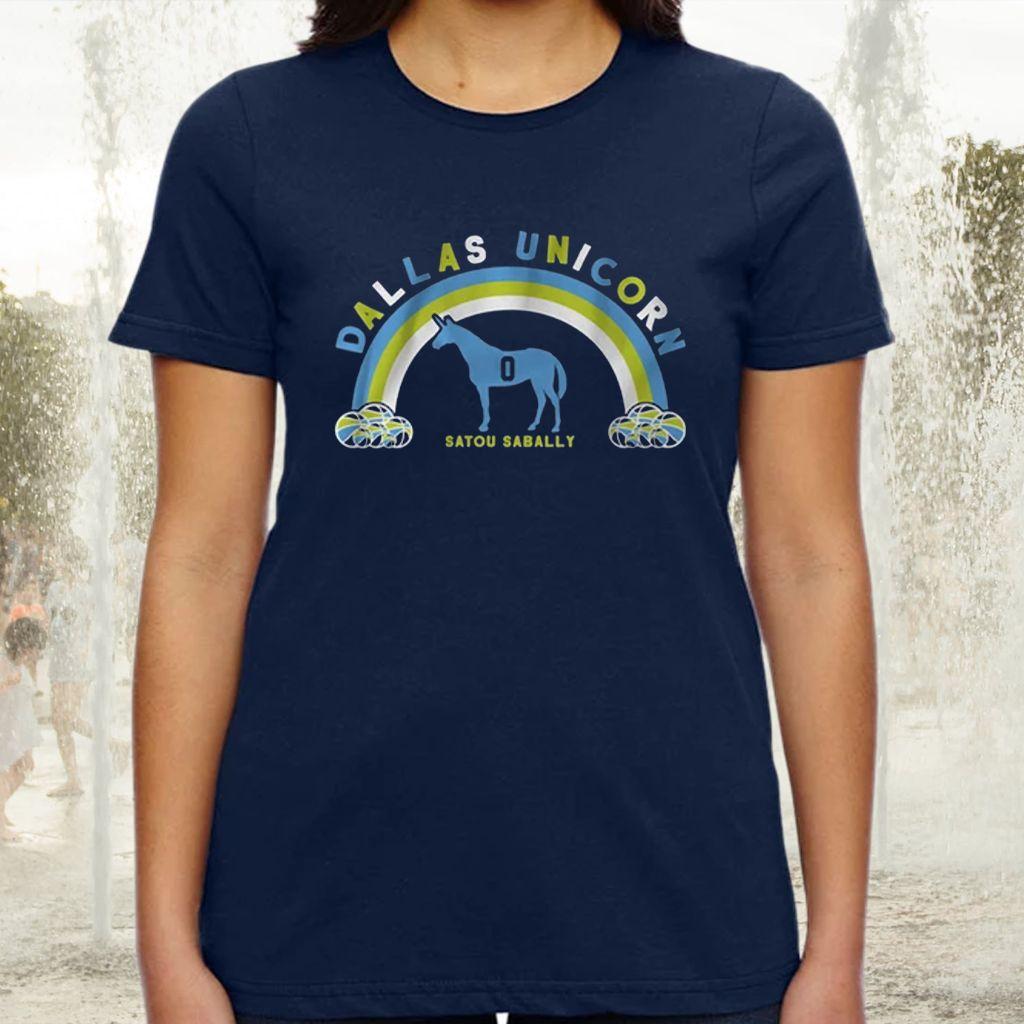 satou dallas unicorn tshirt