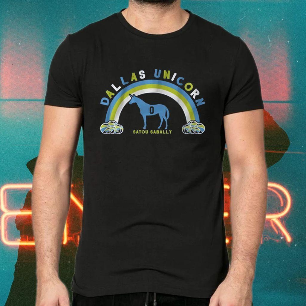 satou dallas unicorn tshirts