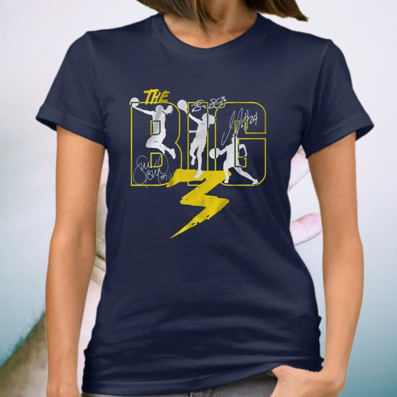 the big 3 seattle shirt