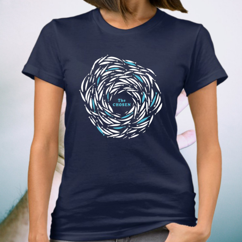 Cycle Fish The Chosen Merch Against The Current Enthusiast T-Shirt
