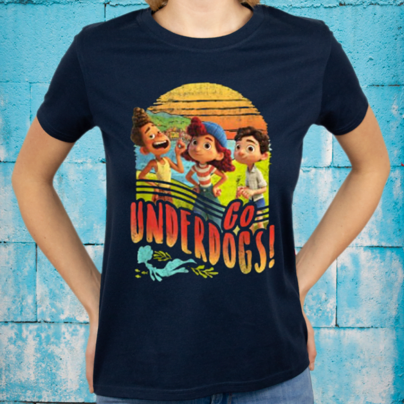 Disney Pixar Luca Go Underdogs Group Shot T-Shirt