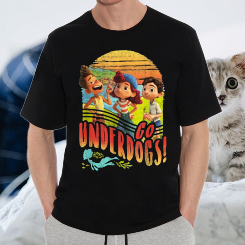 Disney Pixar Luca Go Underdogs Group Shot T-Shirts