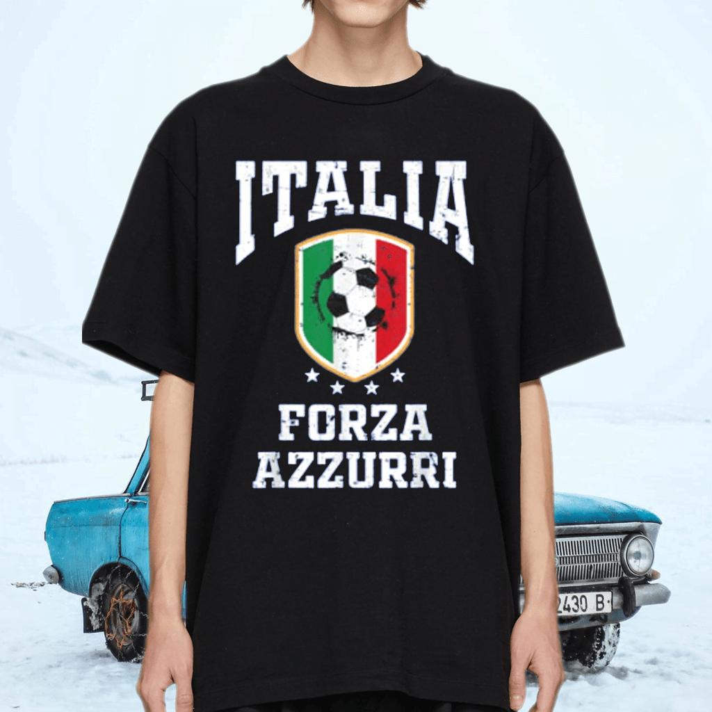 Forza Azzurri Jersey Football 2021 2020 National Team Italia Shirt
