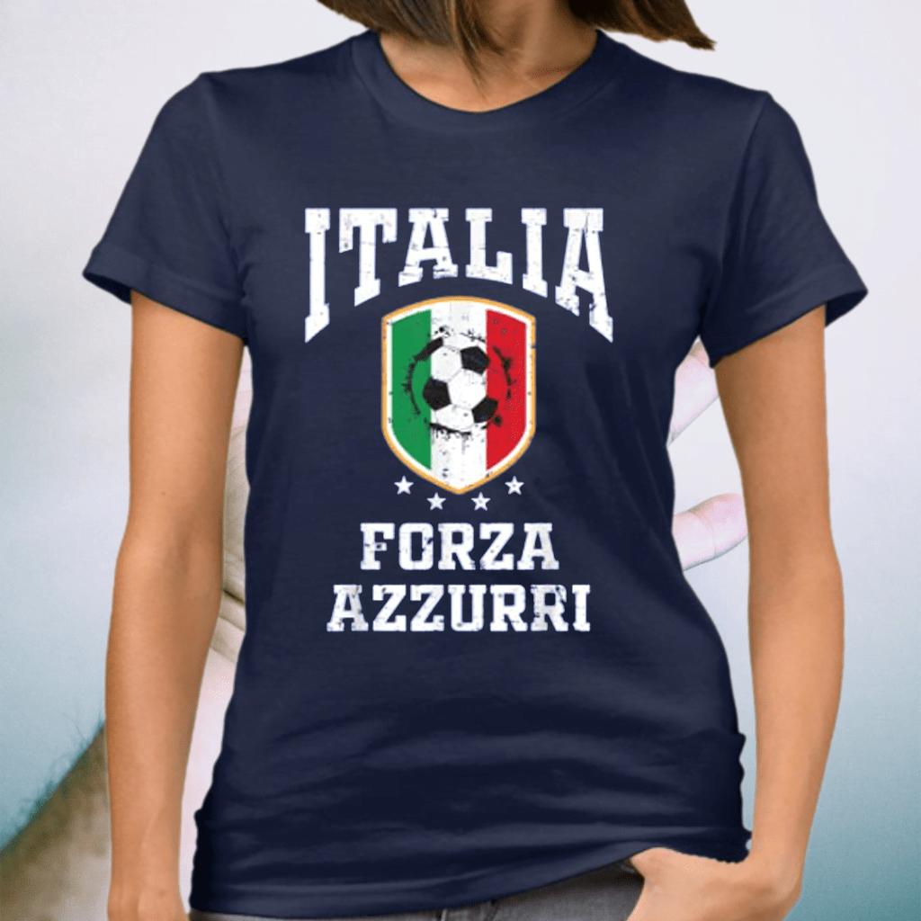 Forza Azzurri Jersey Football 2021 2020 National Team Italia Shirts