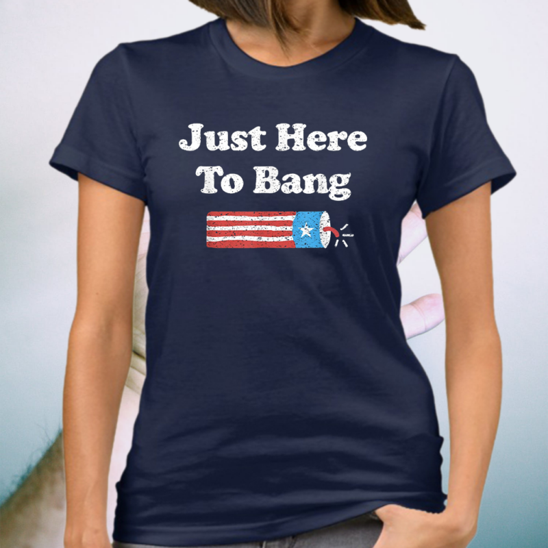 Fourth of July 4th of July I'm Just Here To Bang Shirts
