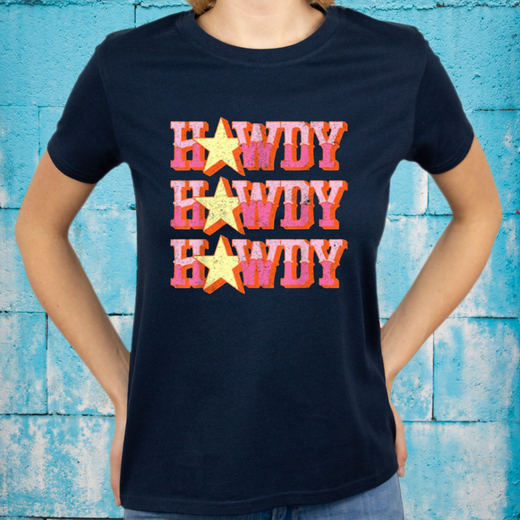 Howdy Rodeo Western Retro Vintage Country Southern Shirt
