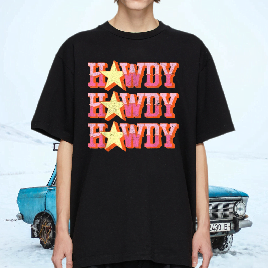 Howdy Rodeo Western Retro Vintage Country Southern T-Shirts