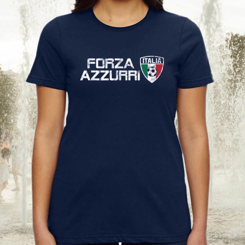 Italy Soccer Jersey Style Italia Football Fan Tee-Shirts
