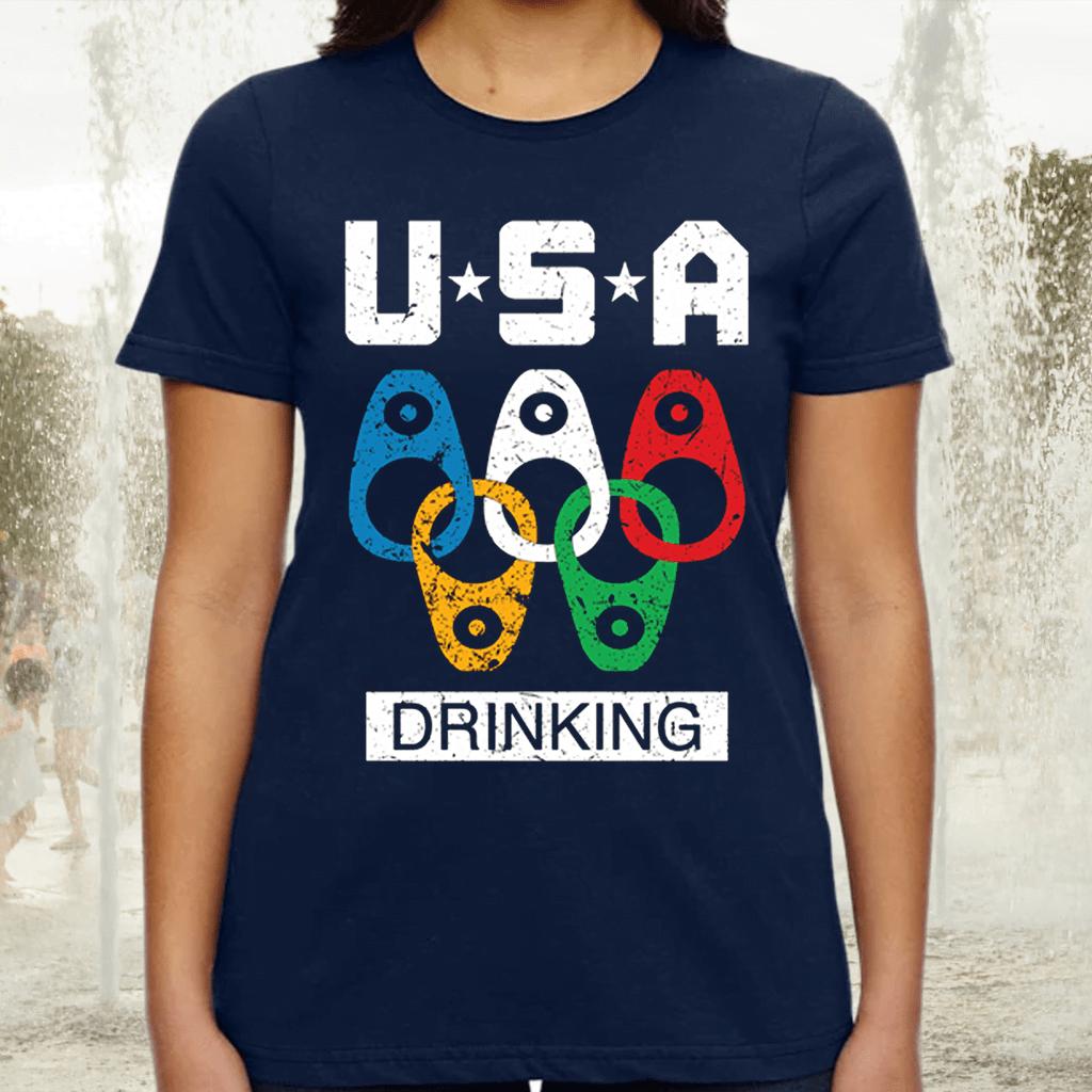 USA Drinking TShirt