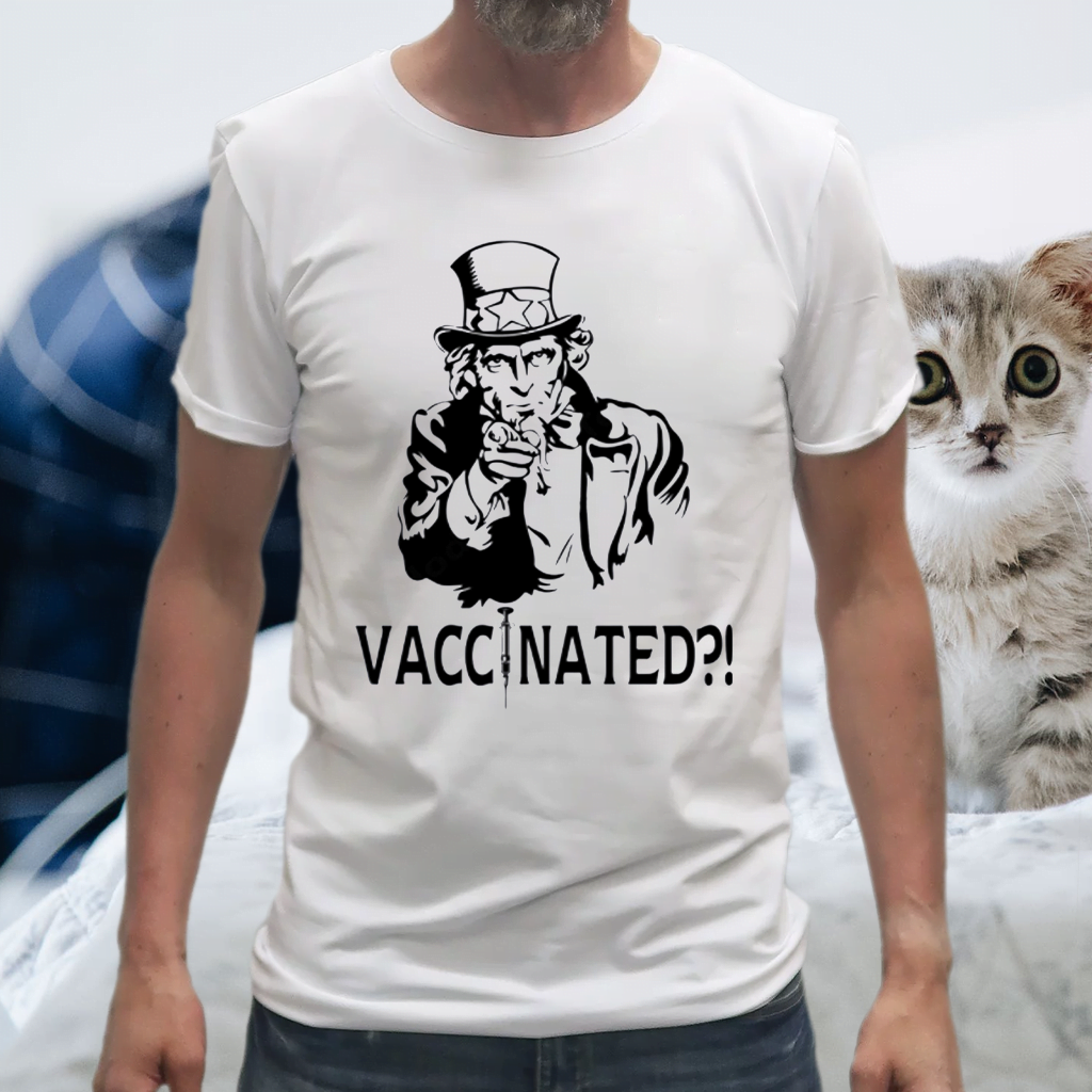 Uncle Sam Vaccinated TShirts